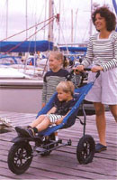 Land Rover Marine All Terrain Pushchair - click for more information