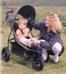 Land Rover Forest All Terrain Pushchair - click for more information