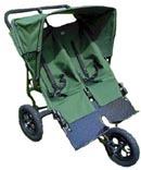 Land Rover Double Savannah All Terrain Pushchair - click for more information